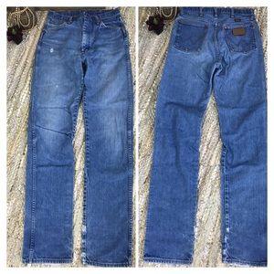 Vintage Wrangler high waisted mom jeans 28x35